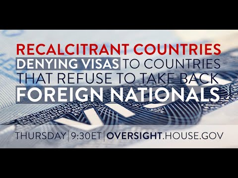 Denying Visas to Countries that Refuse to Take Back Deported Nationals