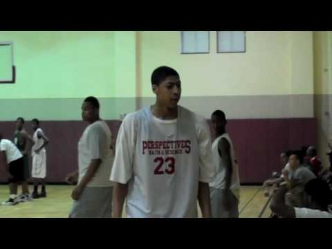 Anthony Davis AD23 - SwagAir Top 5 Plays - July 20th, 2010 - Chicago Perspectives Basketball