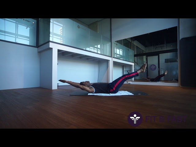 Pilates training van personal trainer Orvin