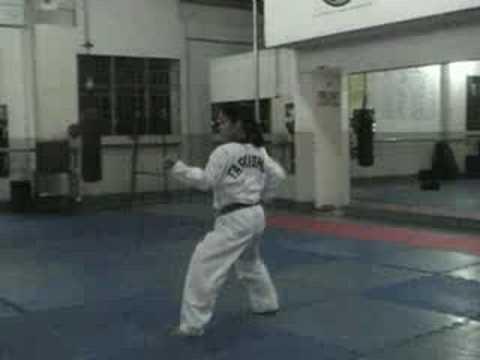 Taekwondo Poomsae - Palgwe Form #1