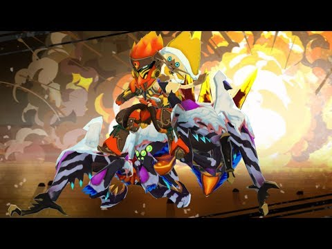 Monster Hunter Stories Gameplay E9 - The White Dragon! Android/IOS thumbnail