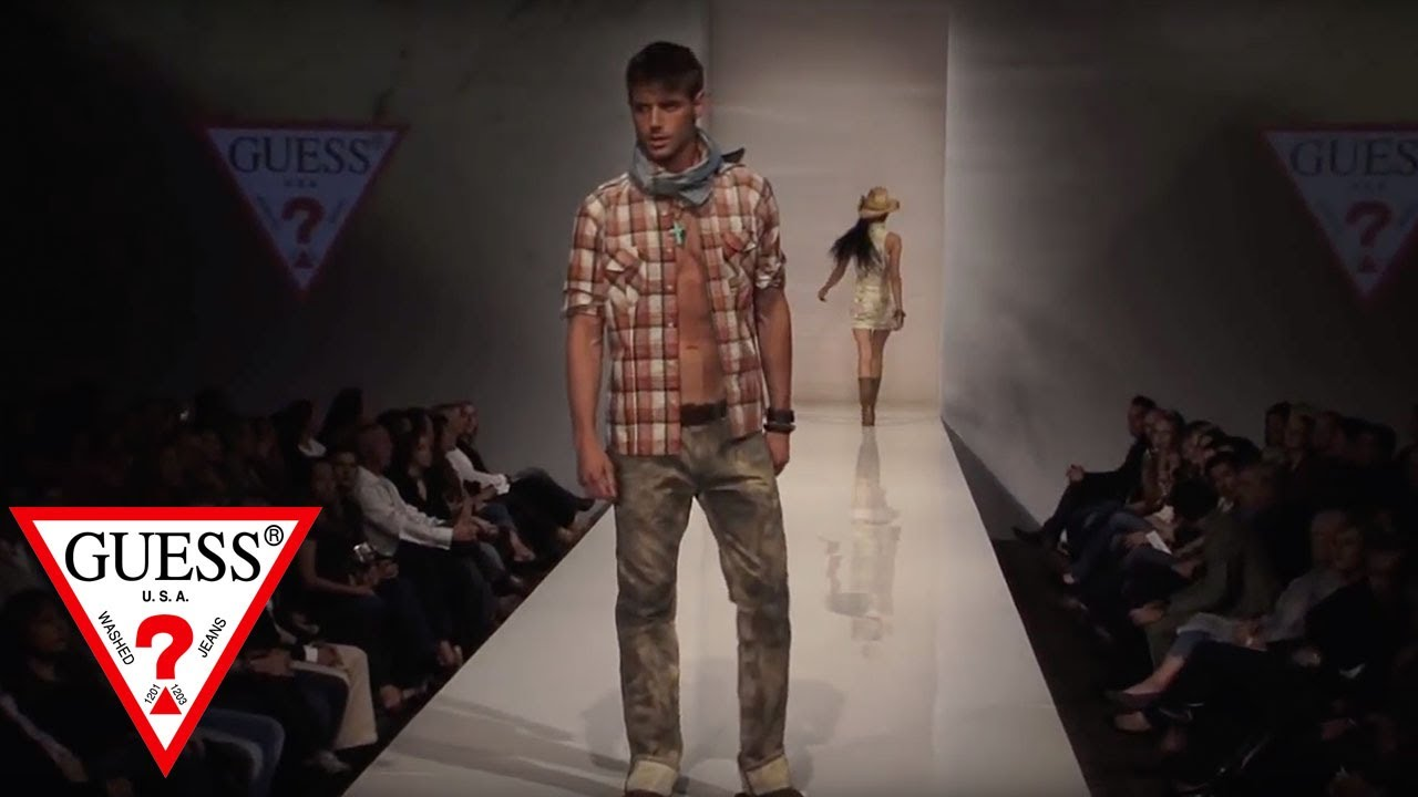 GUESS Jeans S/S 2010 Fashion Show Part 1 - YouTube
