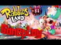 ABM Rabbids Land Board Game Gameplay HD