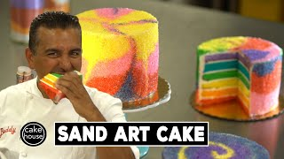 Sand Art Cake by The Cake Boss | Cool Cakes 06