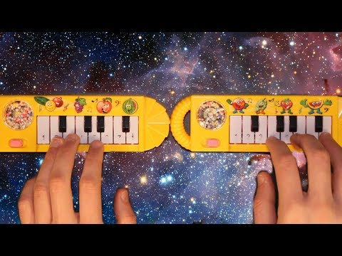 Shooting Stars but it's played on TWO $1 pianos that I found on ebay