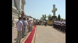 Севастополь. Обряд освящения воссозданного креста, 2012 год