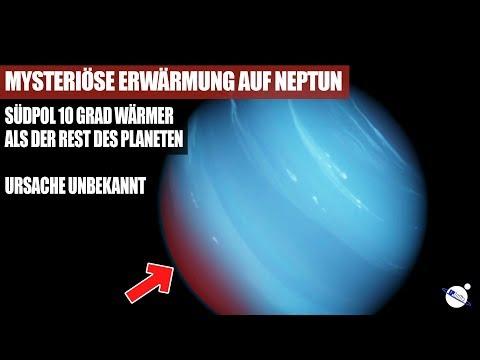 Mysteriöse Erwärmung auf Neptun - Südpol 10 Grad Wärmer - Ursache unbekannt - Mit Ton :D