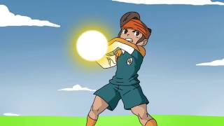 Son Goku vs Mamoru Endo - Kamehameha vs God Hand