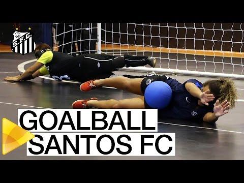 Goalball do Santos FC é apresentado na Vila Belmiro