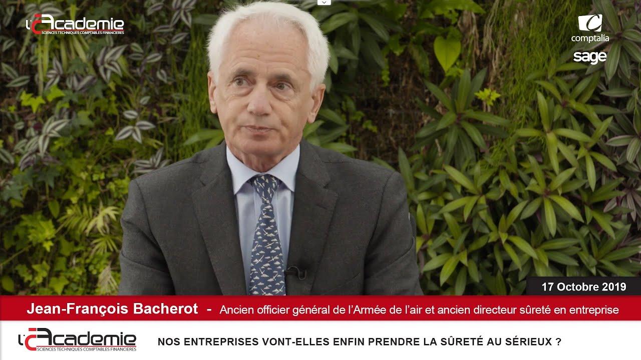 Les Entretiens de l'Académie : Jean-François Bacherot