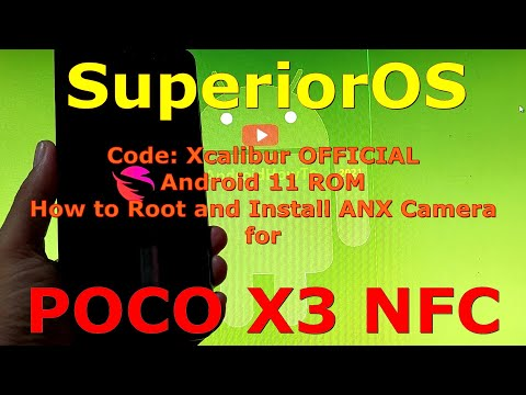 SuperiorOS OFFICIAL for Poco X3 NFC (Surya) Android 11