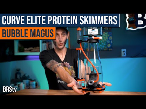 Spotlight on the Bubble Magus Curve Elite Protein Skimmers. All the Bells & Whistles Without the $$!