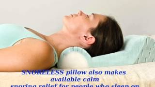 Anti Snoring Pillow - See How New Anti Snoring Pillow Helps You Stop Snoring!