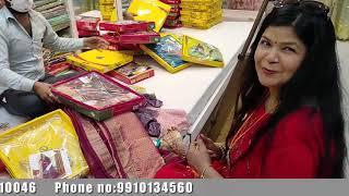 Best shop in delhi for saress.. Shadi ka pura saman ek hi shop par wholesale price me.