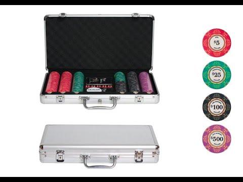 Набор для покера Luxury Ceramic на 300 фишек