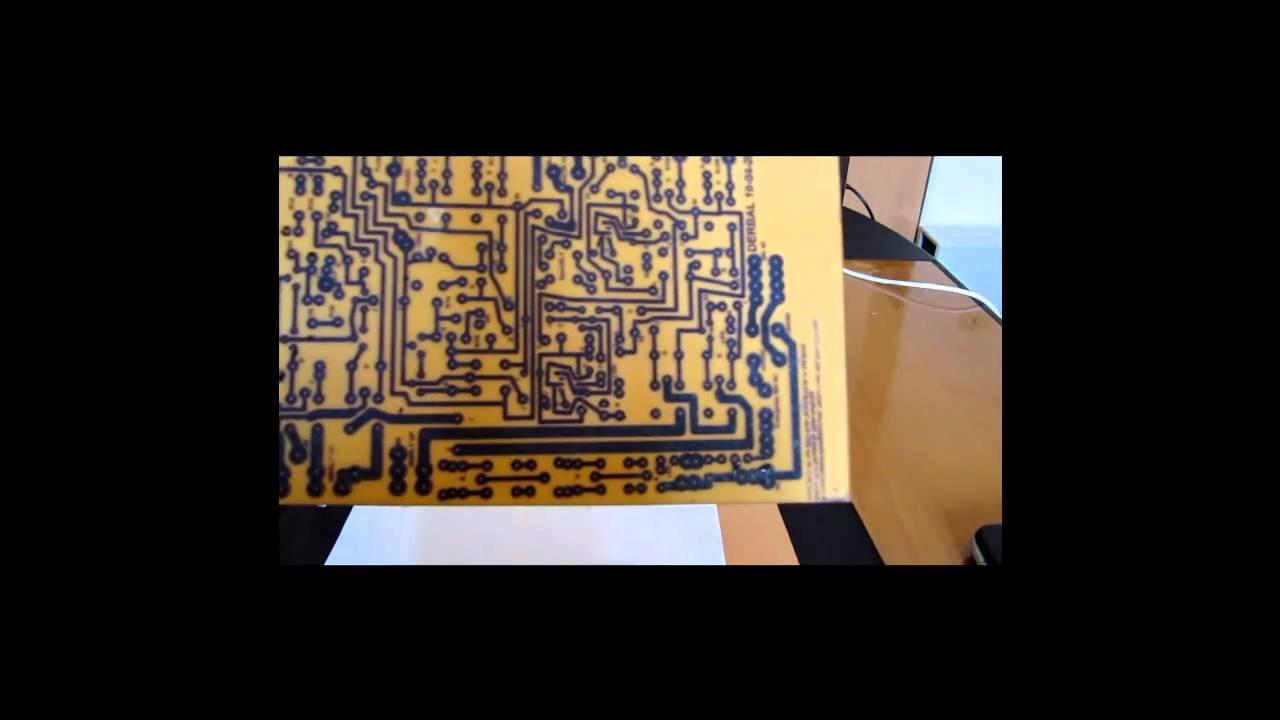 Printed Circuit Board Pcb For A Cnc Glass Cutting Machine Hd Youtube