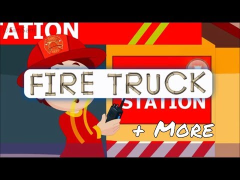 Fire Truck and Top 30 Nursery rhymes by SimSam