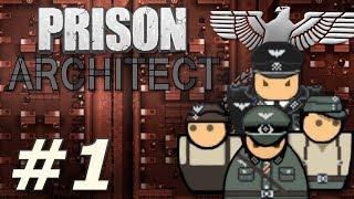 Prison Architect: PoW Reinstated - Albrecht's Eklig Mannschaftslager (Part 1)