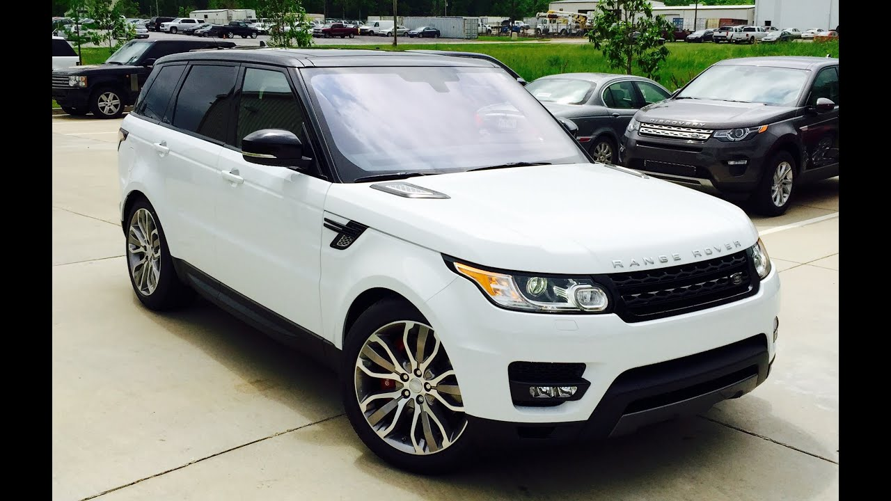 2016 range rover supercharged dynamic full review exhaust start up short drive [ 1280 x 720 Pixel ]