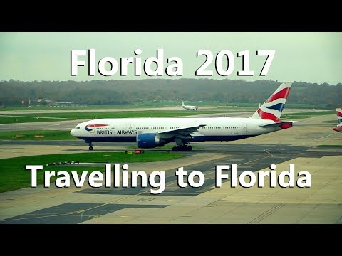 Florida 2017 Episode 1 Travelling to Florida
