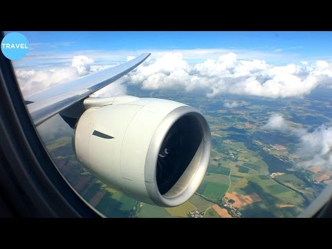 ENGINE VIEW | Singapore Airlines 777-300ER Landing at Munich Airport!