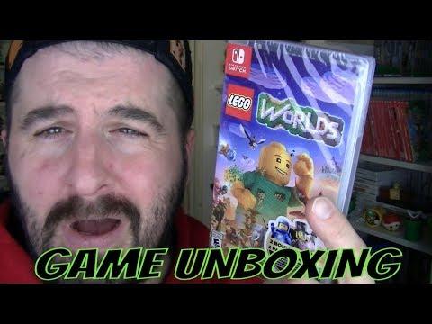 NINTENDO SWITCH LEGO WORLD GAME UNBOXING