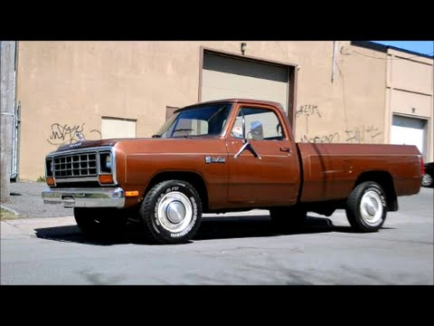 COOL '84 DODGE RAM PICKUP TRUCK SIGHTING - YouTube