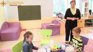 Урок этикета в частном детском саду