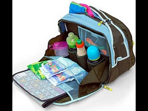 What S In My Reborn S Diaper Bag For Girls Youtube