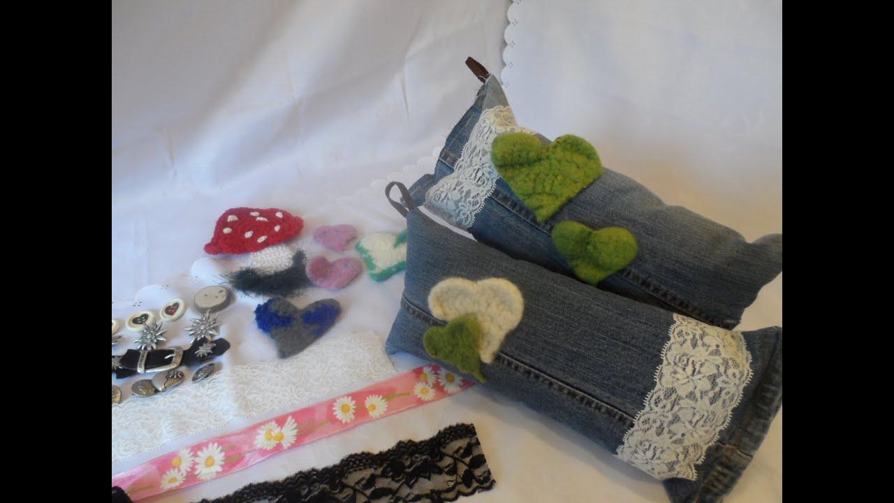 diy alte jeans mach neu kleiner n hkurs 4 ideen upcycling teil3 youtube. Black Bedroom Furniture Sets. Home Design Ideas