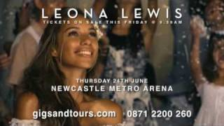 Global Singing Sensation Leona Lewis Announces Her First Ever UK Arena Tour