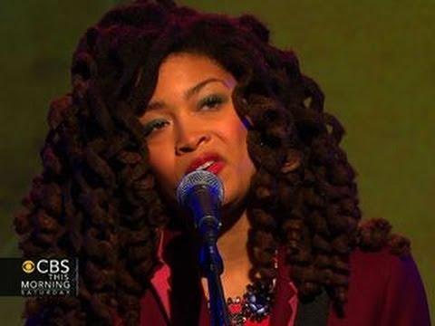 Valerie June sings