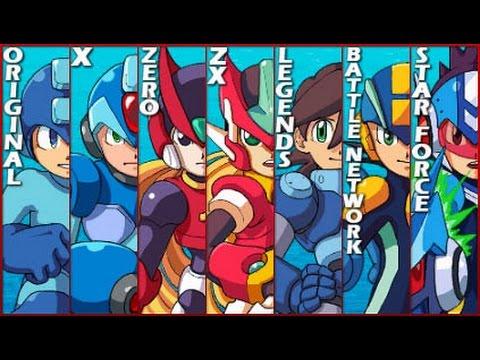 All Megaman commercial - ROCKMAN ロックマン CM集