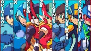 All Megaman commercials - ROCKMAN ロックマン CM集