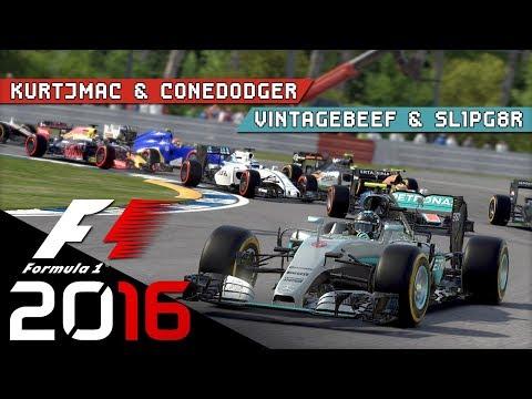 F1 2016 - YAS MARINA Race - Ramps!