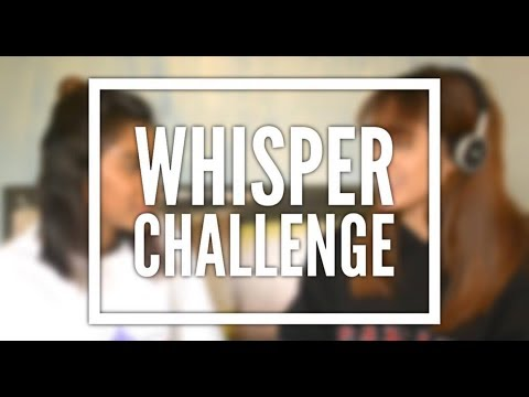 Whisper Challenge (We Are MNL)