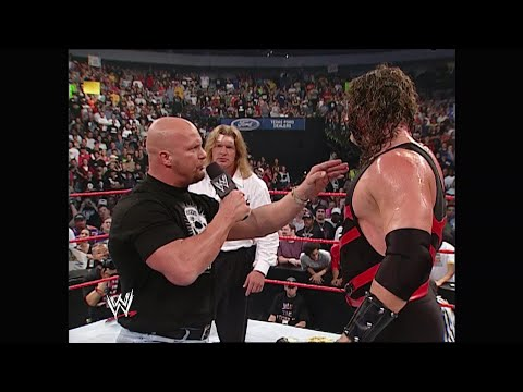 Triple H invites Kane to join Evolution: Raw, June 16, 2003
