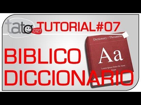 Descargar Diccionario Bíblico gratis -tato0727 de YouTube · Duración:  1 minutos 23 segundos