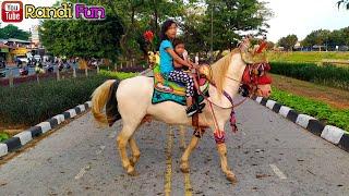 KUDA DELMAN🔴Seruhnya Naik Kuda Di area olahraga BKT cipinang indah~horse