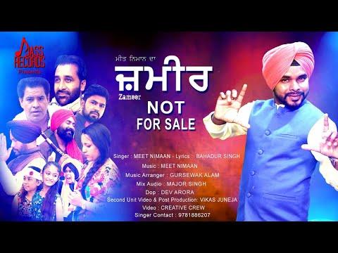 Zamer Not For Sale | (Full HD) | Meet Nimaan | New Punjabi Songs 2018 | Latest Punjabi Songs 2018