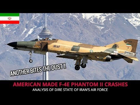 IRAN's F 4E PHANTOM II - THE FLEET IS DWINDLING DOWN !!