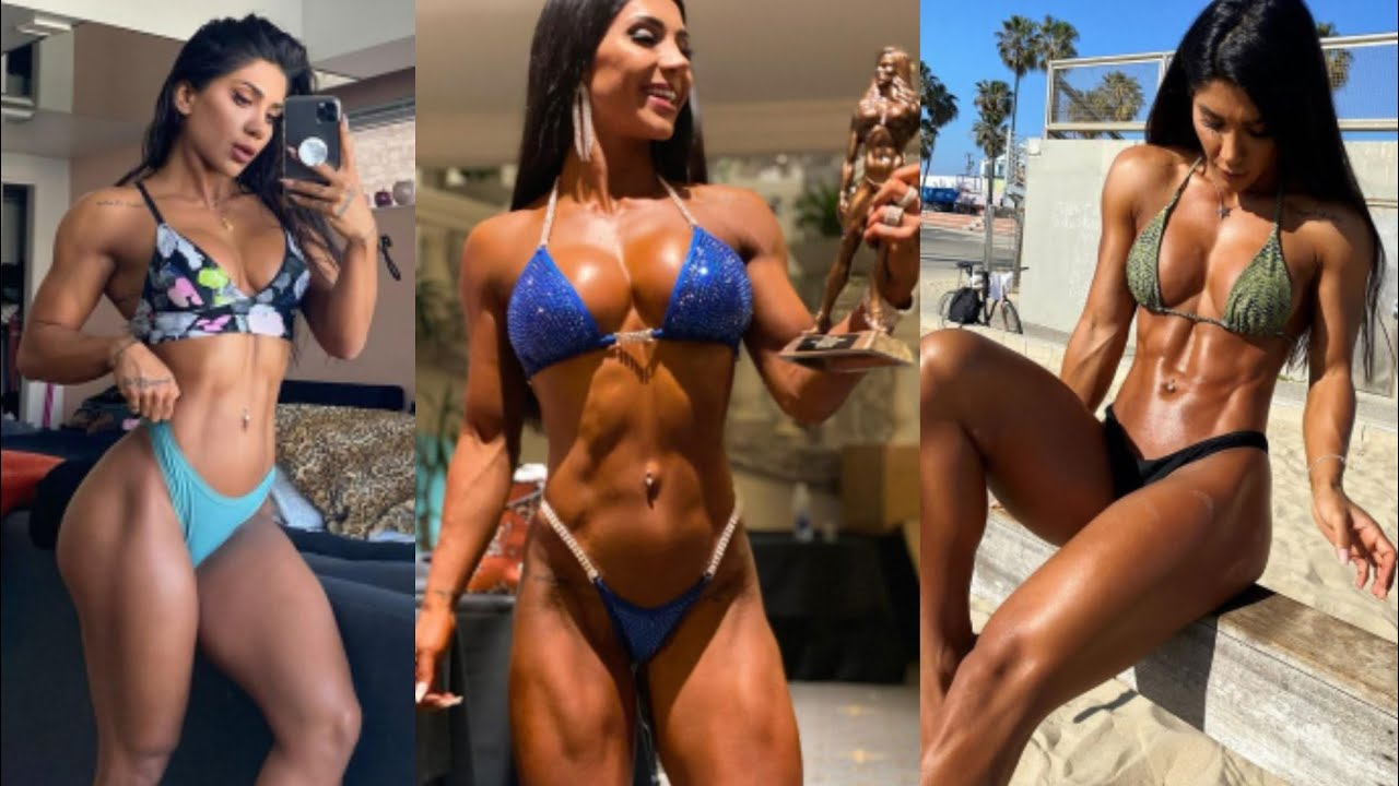 SEXY HOT DENIZ SAYPINAR FITNESS MODEL WORKOUT   GYM CONNECT