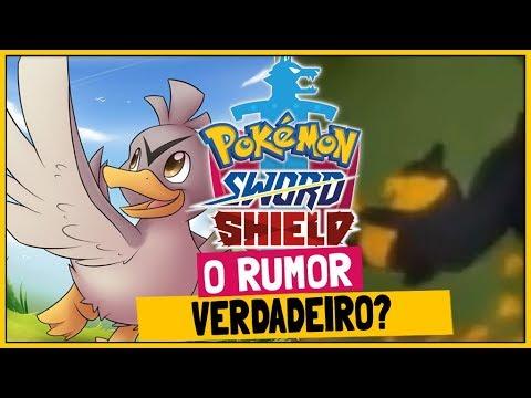 O Rumor Que Acabou Se Confirmando Pokemon Sword E Shield Youtube