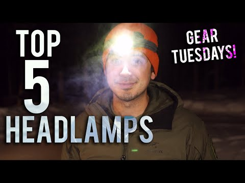 5 BEST HEADLAMPS for Camping, Adventures, Overlanding, etc. -GEAR TUESDAY-