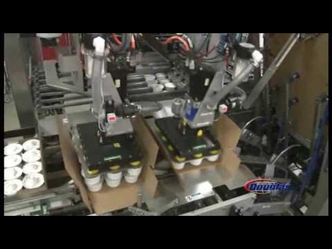 Douglas Machine Horizontal Case Packer For Dairy Cups - Axiom®IM