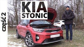 Kia Stonic 1.4 DOHC 100 KM, 2018 - techniczna część testu #376
