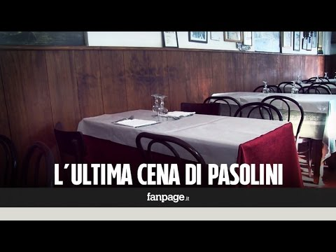 L'ultima cena di Pier Paolo Pasolini
