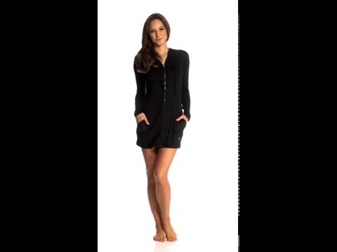 3c9a5e2eb2 Beach House Coastline Cover Ups Indra Mesh Hooded Zip Up Jacket |  SwimOutlet.com - YouTube