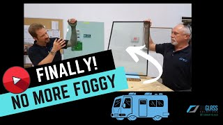 lifetime solution to foggy side windows in your rv