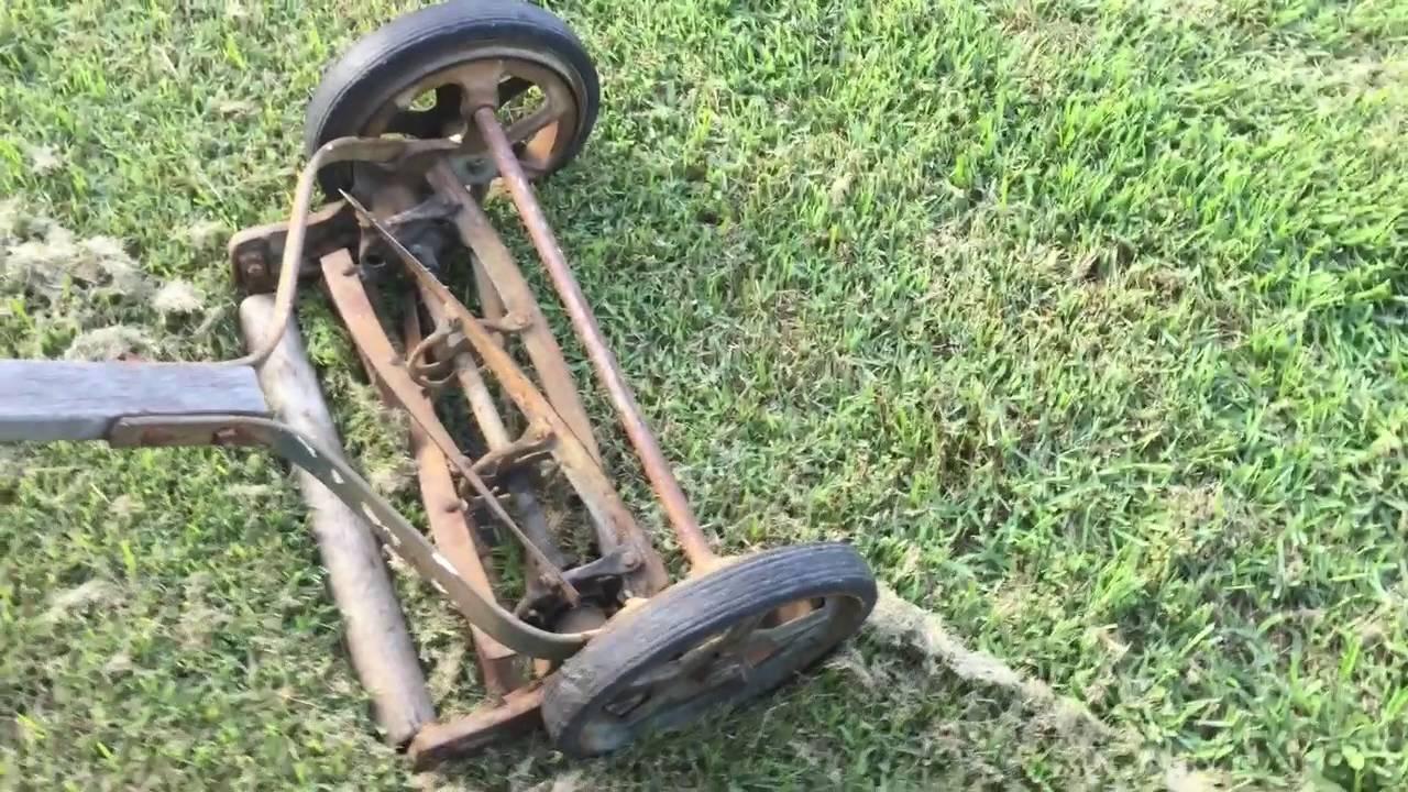 lawn Vintage mowers reel